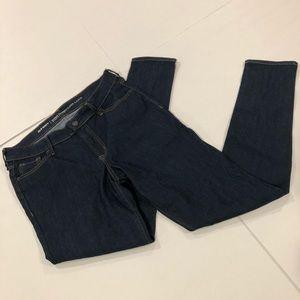 NWOT old navy size 8 regular dark wash jeans